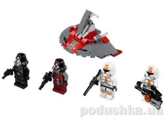 Конструктор Lego Солдаты Республики против воинов Ситхов Star Wars 75001