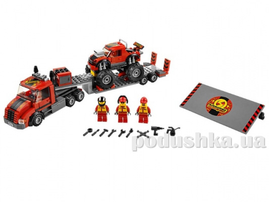 Конструктор Lego Транспортировщик грузовиков-монстров City 60027