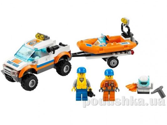 Конструктор Lego Внедорожник для транспортировки лодок City 60012