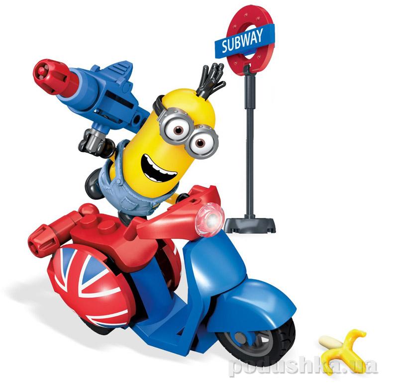 Конструктор Mega Bloks Кевин на скутере