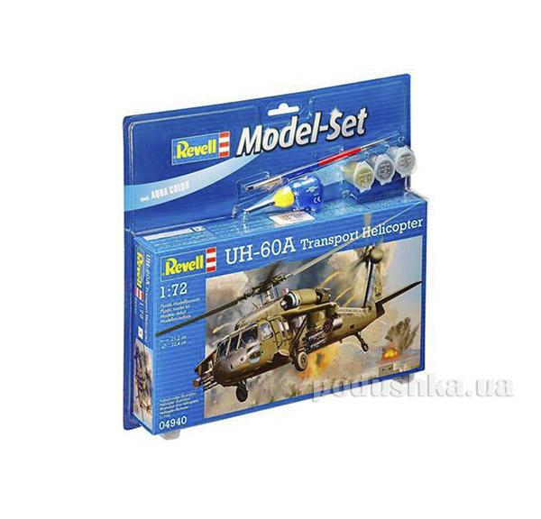 Конструктор Model Set Вертолет UH-60A Transport Helicopter 1:72 Revell 64940   Revell Controll