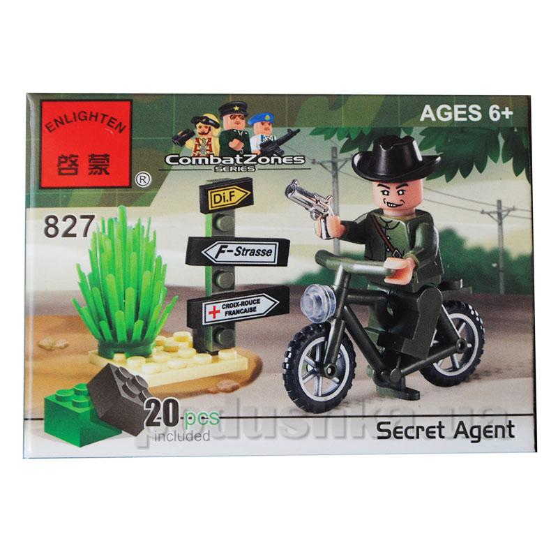 Конструктор Мотоцикл Brick 827