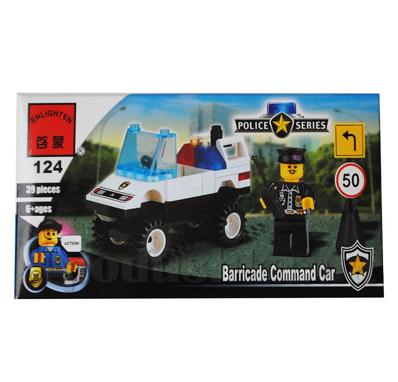 Конструктор Полиция Brick 124