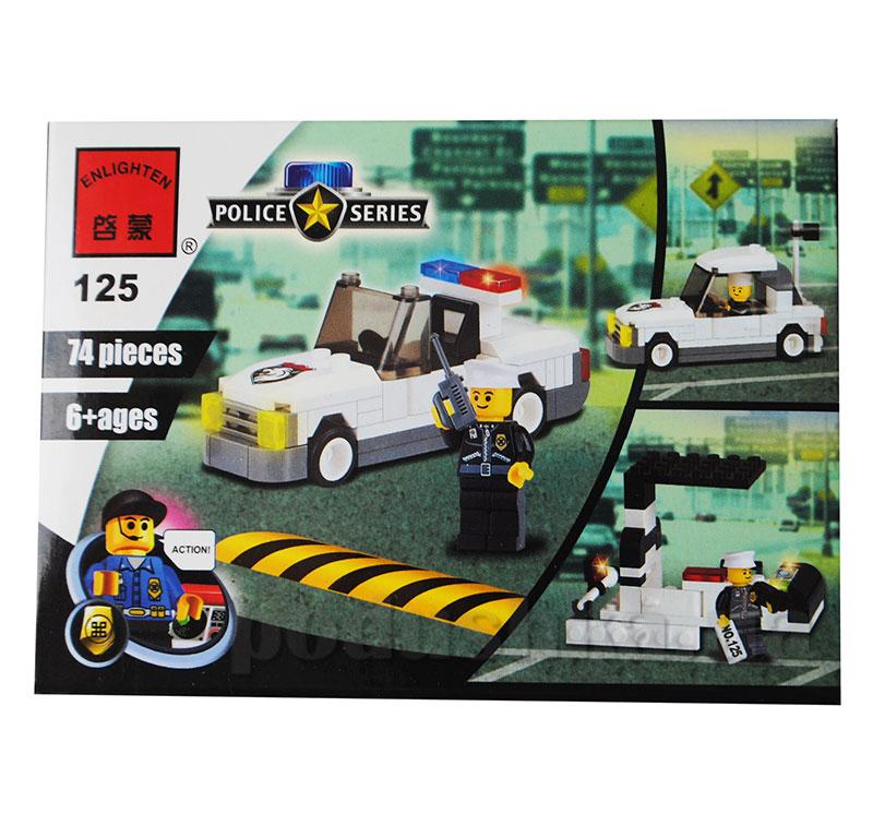 Конструктор Полиция Brick 125