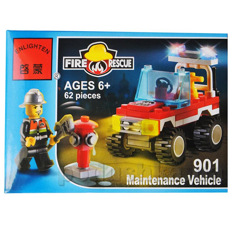 Конструктор Пожарная охрана Brick 901
