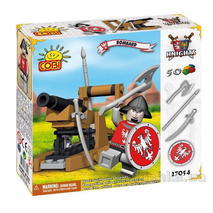 Конструктор Пушка серии Рыцари Cobi