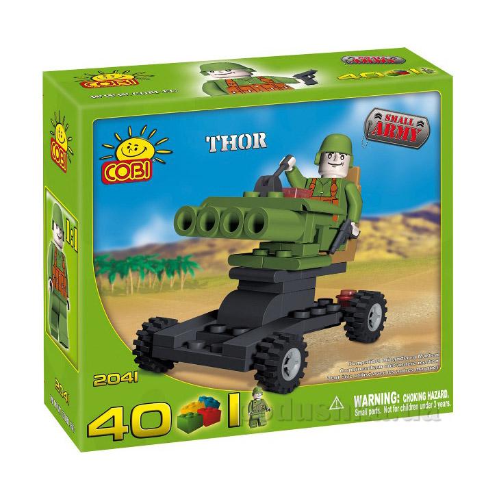 Конструктор Пушка Тор серии Армия Cobi