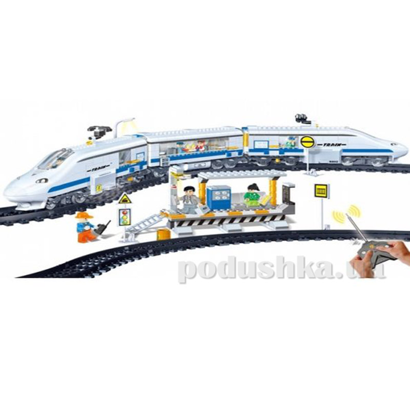 Конструктор с ду Banbao Железная дорога 8221