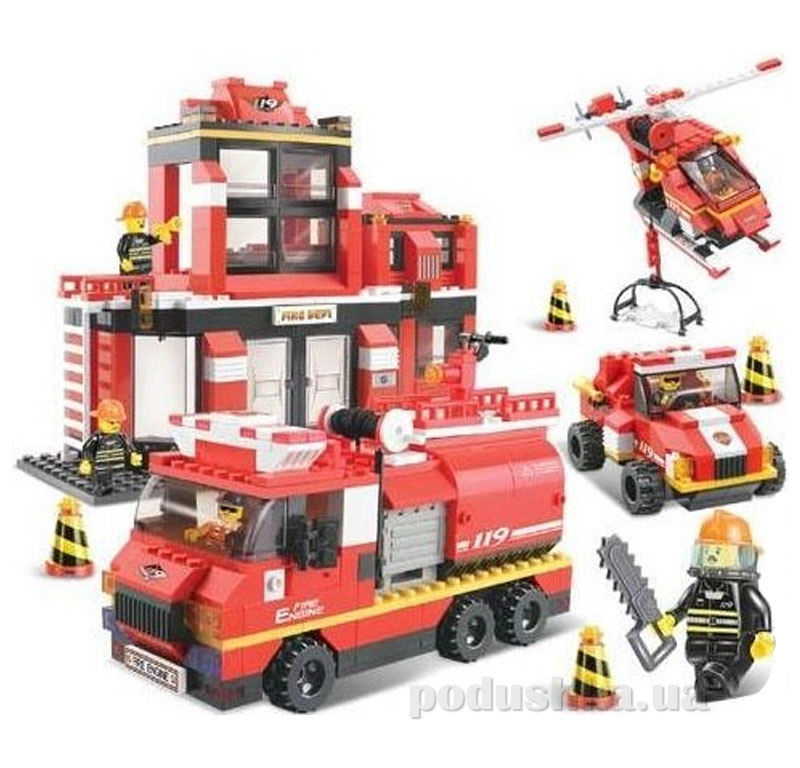Конструктор Sluban 620038/M 38 B 0226 Пожарные спасатели   Sluban