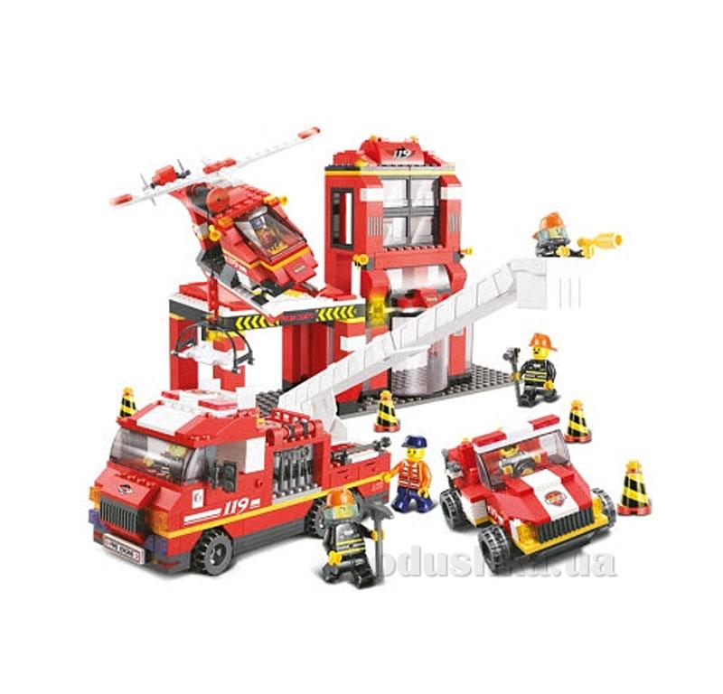 Конструктор Sluban 620040/M 38 B 0227 Пожарная часть