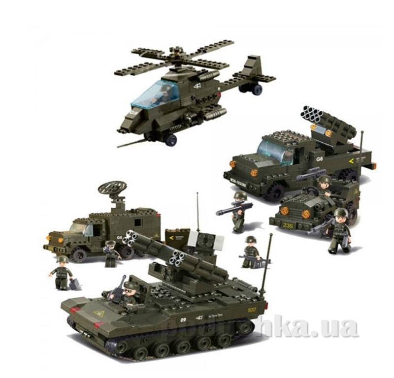 Конструктор Sluban Армия M38-В7000