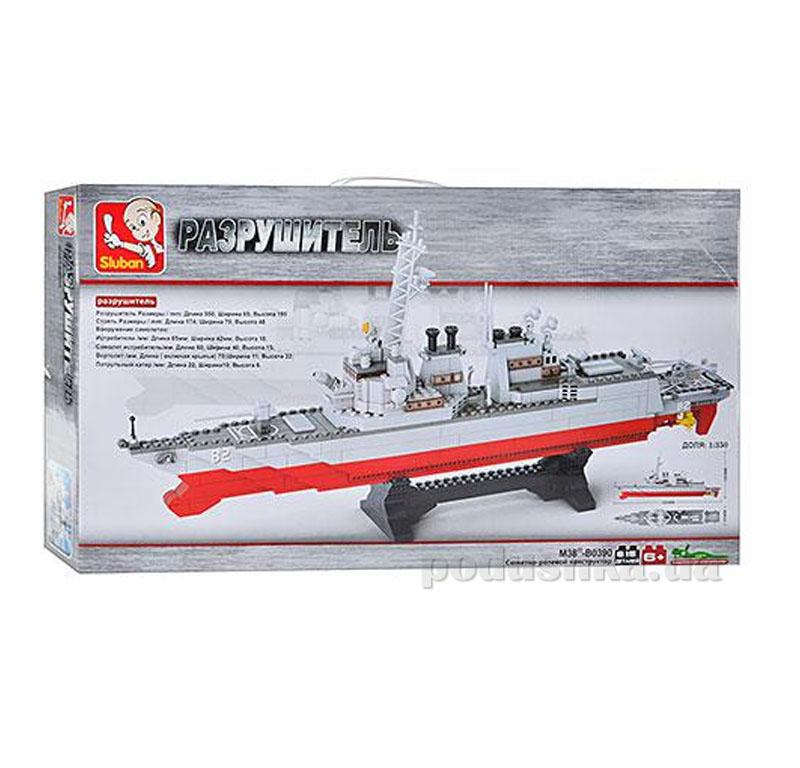 Конструктор Sluban M 38 B 0390 Авианосец   Sluban