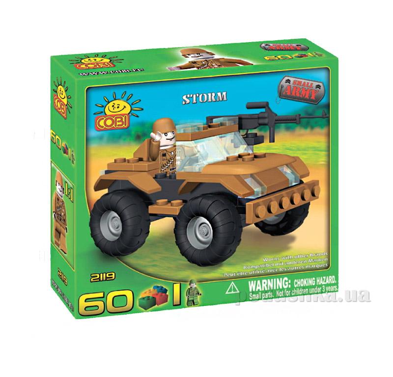 Конструктор транспортное средство Шторм серии Армия Cobi