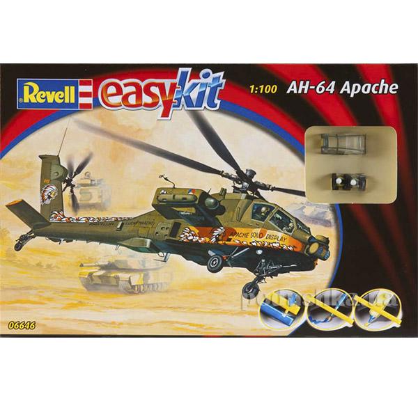 Конструктор Вертолет AH-64 Apache 1:100 easykit Revell 06646   Revell Controll