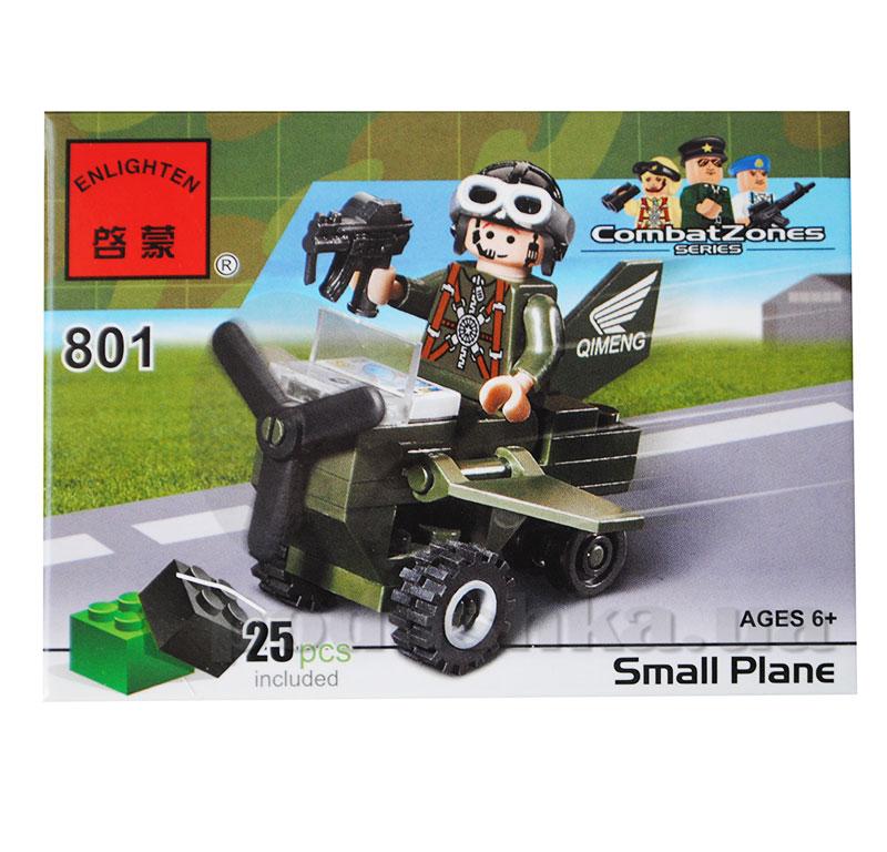 Конструктор Военный вертолет Brick 801