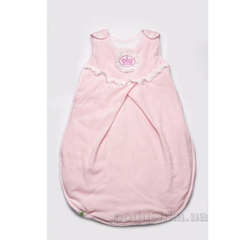 Конверт для новорожденного на выписку Модный Карапуз 03-00481 розовый