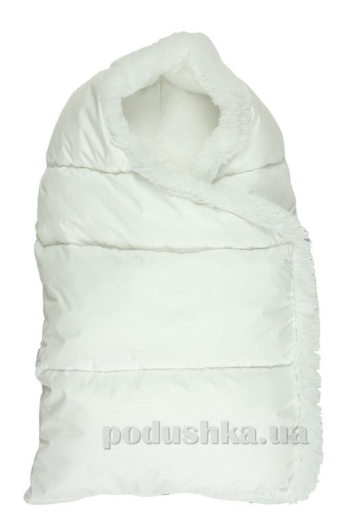 Конверт на молнии Пуховичок Руно 715У белый