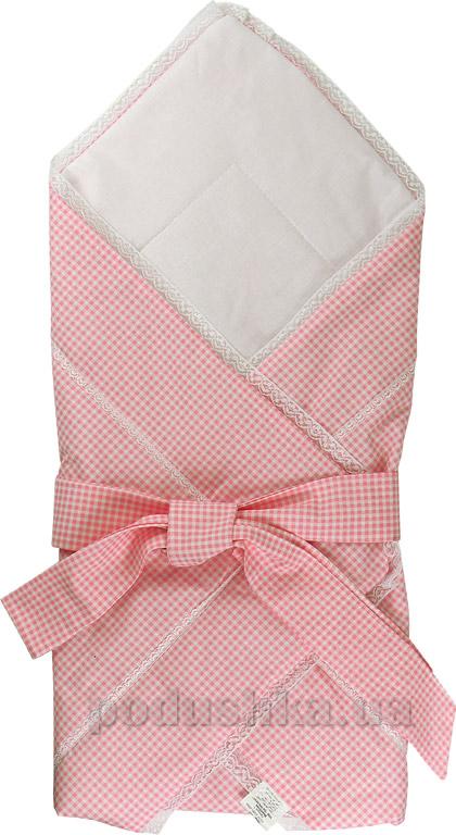 Конверт-одеяло Руно 957 розовый с бантом