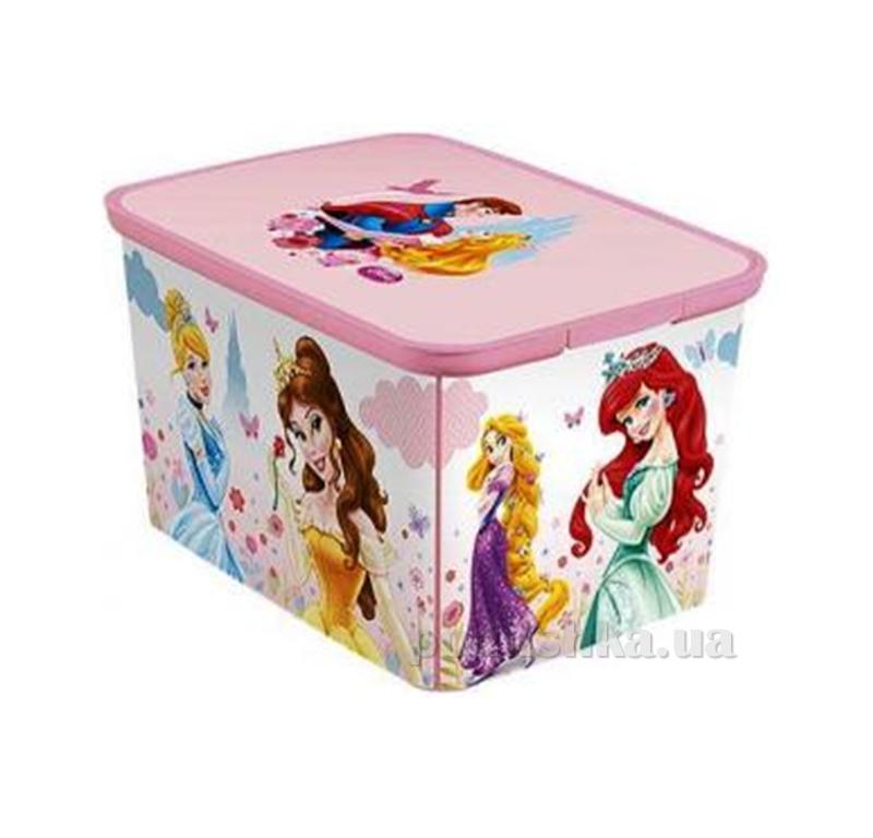 Коробка для хранения игрушек Amsterdam L Принцесса Curver 04730-Р