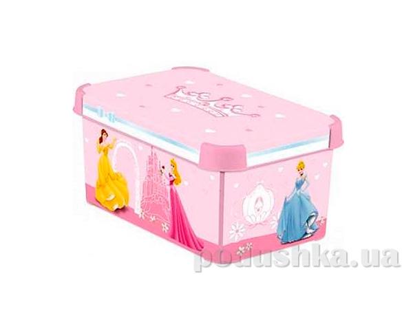 Коробка для хранения игрушек Curver 04710-D33 Принцессы