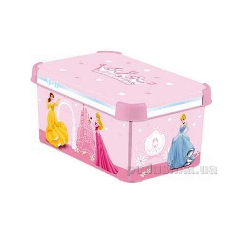 Коробка для хранения игрушек Curver 04710-P Принцессы