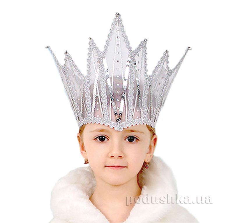 Корона снежной королевы взрослый своими руками