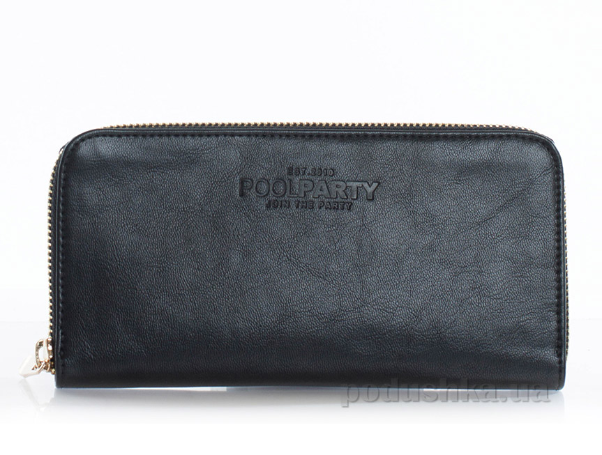 Кошелек кожаный Poolparty Leather wallet