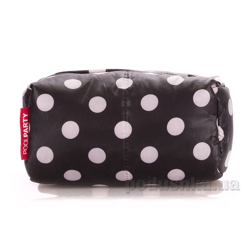 Косметичка Poolparty Cosmetic black dots