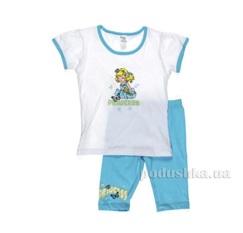 Костюм детский для девочки Niso Baby 1010 голубой