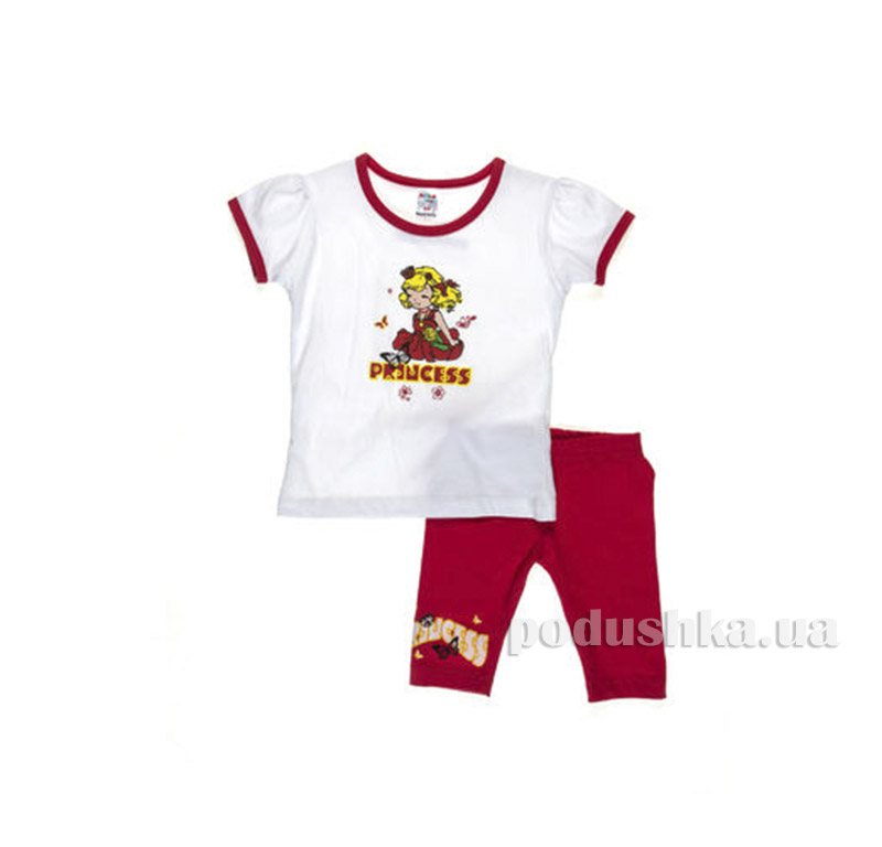 Костюм детский для девочки Niso Baby 1010 красный