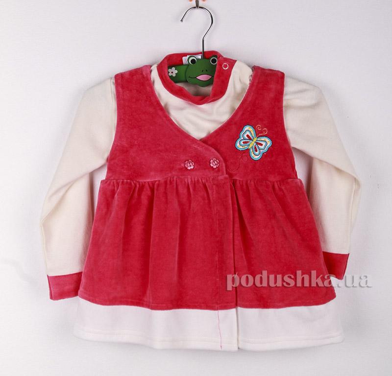 Костюм детский Niso Baby VEL6600 розовый