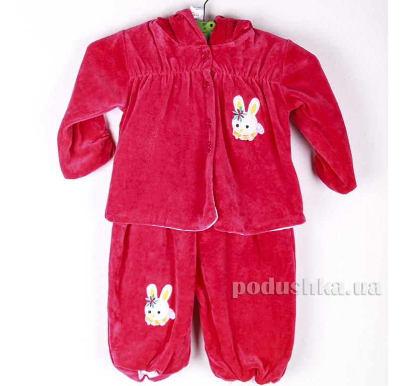 Костюм детский Niso Baby WEL6400 малиновый