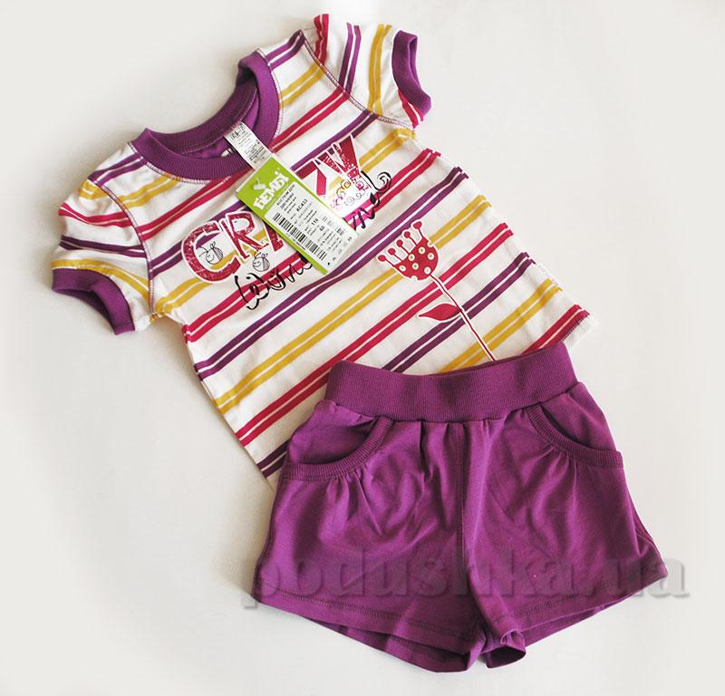 Костюм для девочки Бемби КС433 фиолетовый