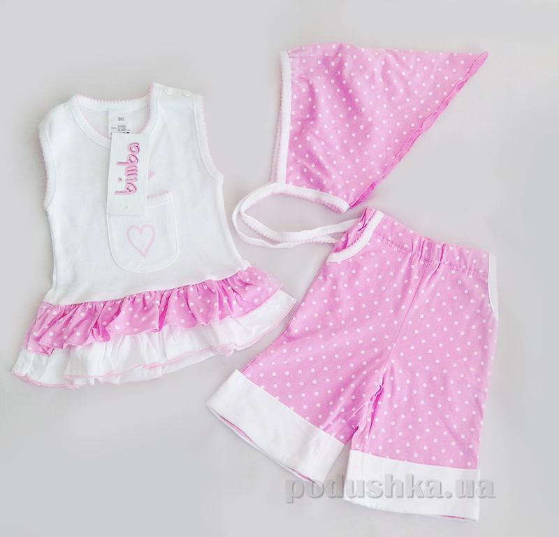 Костюм для девочки Senti 090905 розовый