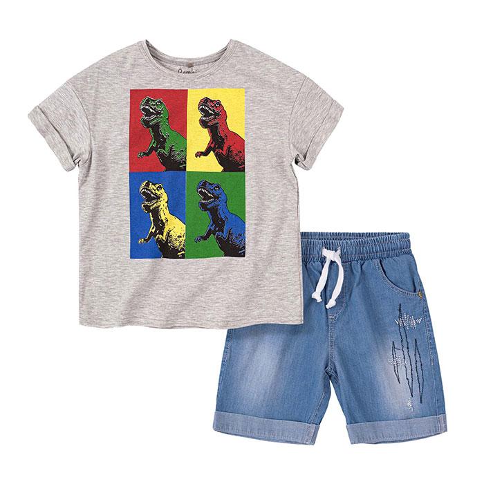 Костюм для мальчика Bembi КС652 серый купить в Киеве, одежда для мальчиков по выгодным ценам в каталоге товаров для дома интернет-магазина Podushka