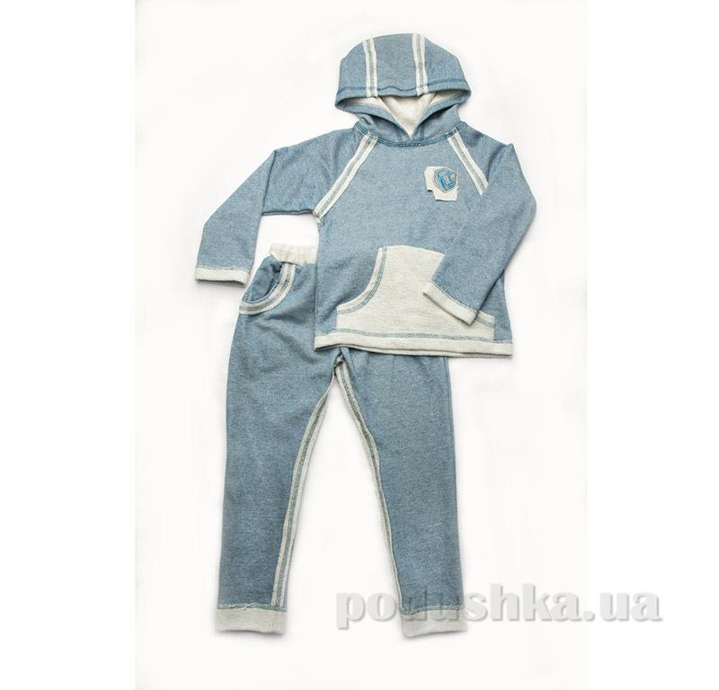 Костюм для мальчика Модный Карапуз 03-00474 Бирюза