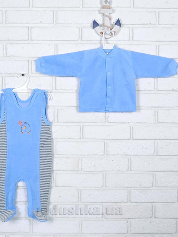 Костюм для мальчика Татошка 08348 голубой