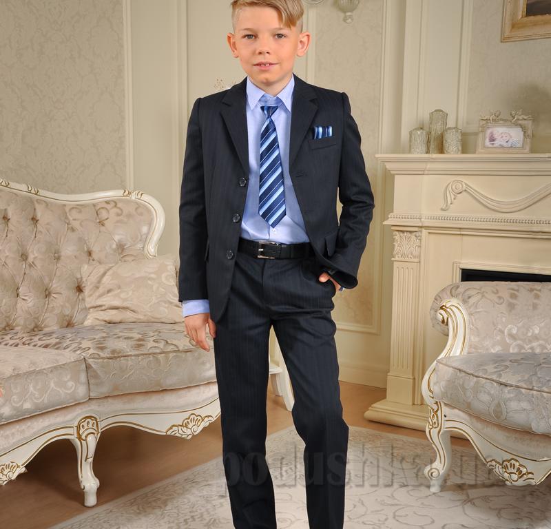 Школьный костюм Милана КДО-03106 синий