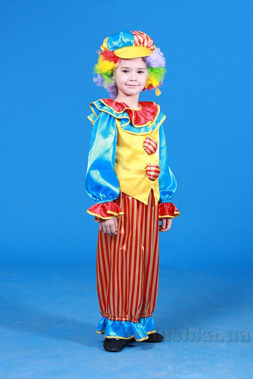 Костюм Клоуна с кепкой для мальчика Украина карнавальная KD51