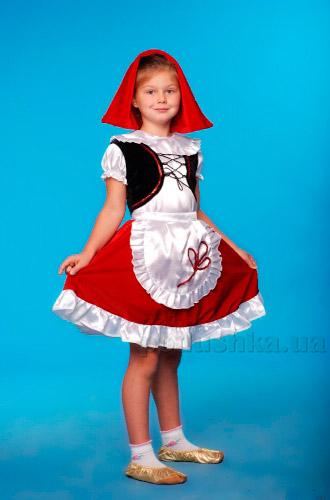 Костюм Красной шапочки Украина карнавальная KD50