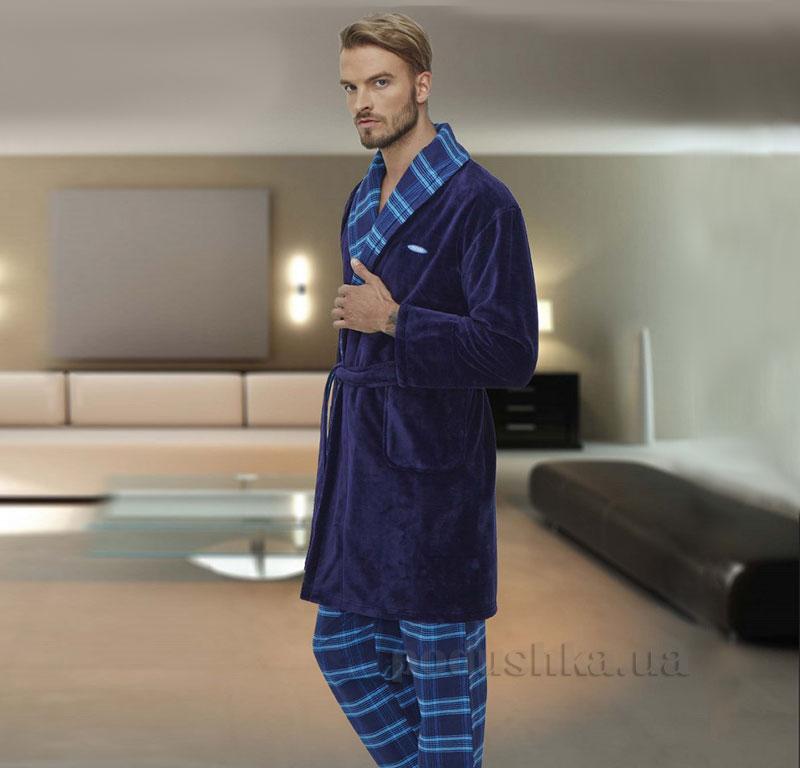 Костюм мужской домашний Cocoon 97-5009 синий