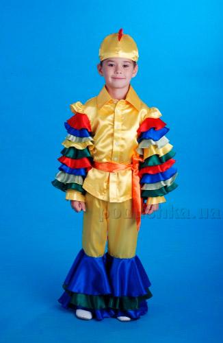 Костюм Петуха для мальчика Украина карнавальная KD85