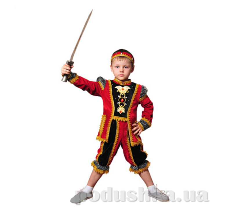 Костюм Принц красный Витус