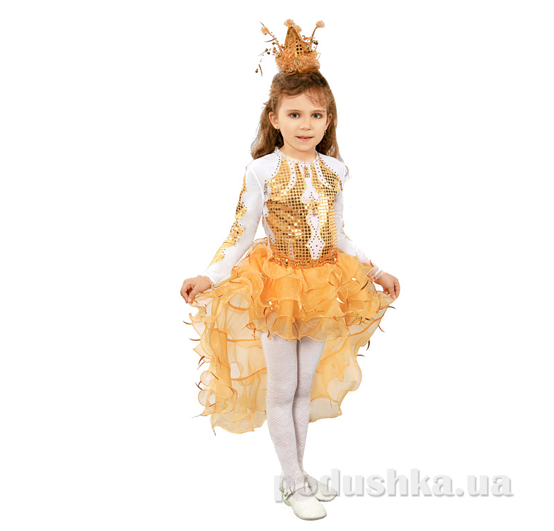 Костюм Принцесса Золотая рыбка Витус 261