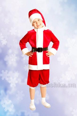 Костюм Санта Клауса из мультфильма Олененок Рудольф Украина карнавальная KD52
