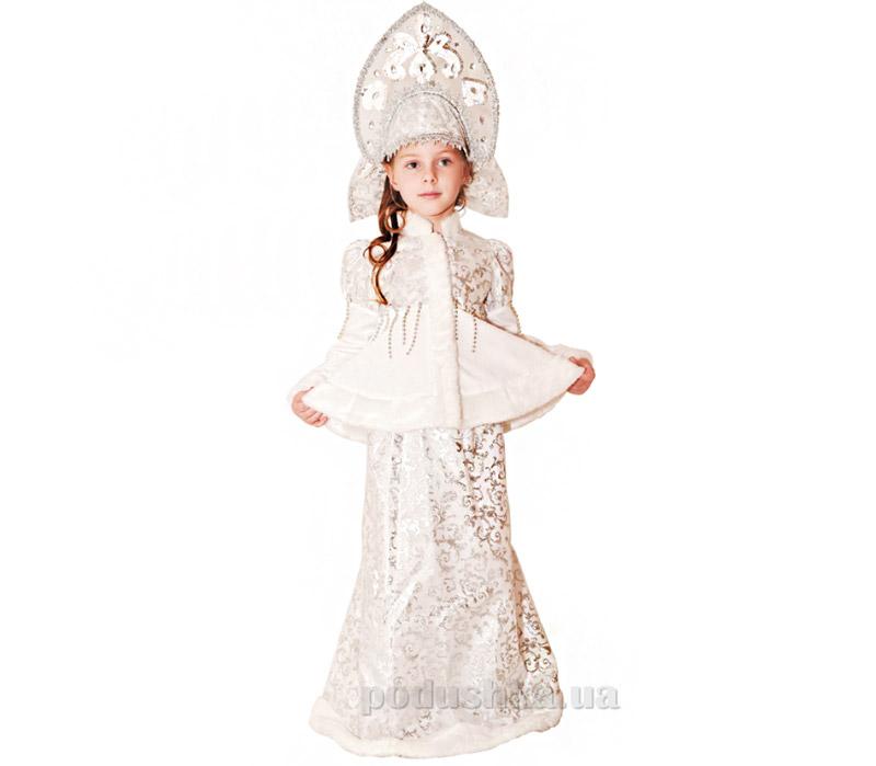 Костюм Снегурочка Морозко длинная юбка Витус 162