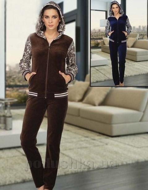 Костюм велюровый женский Cocoon 061-9507