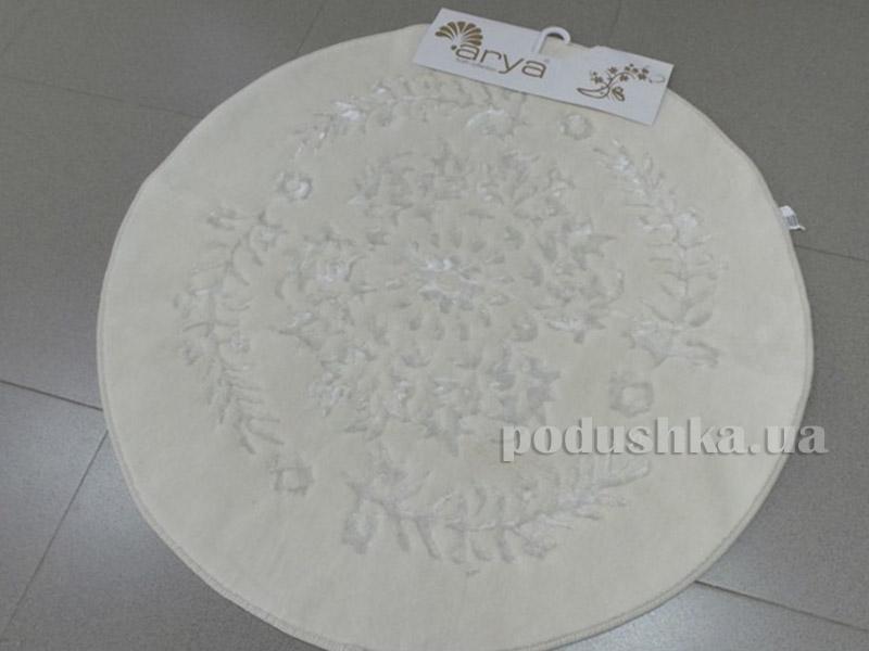 Коврик белый для ванной комнаты Berceste Arya 1380062