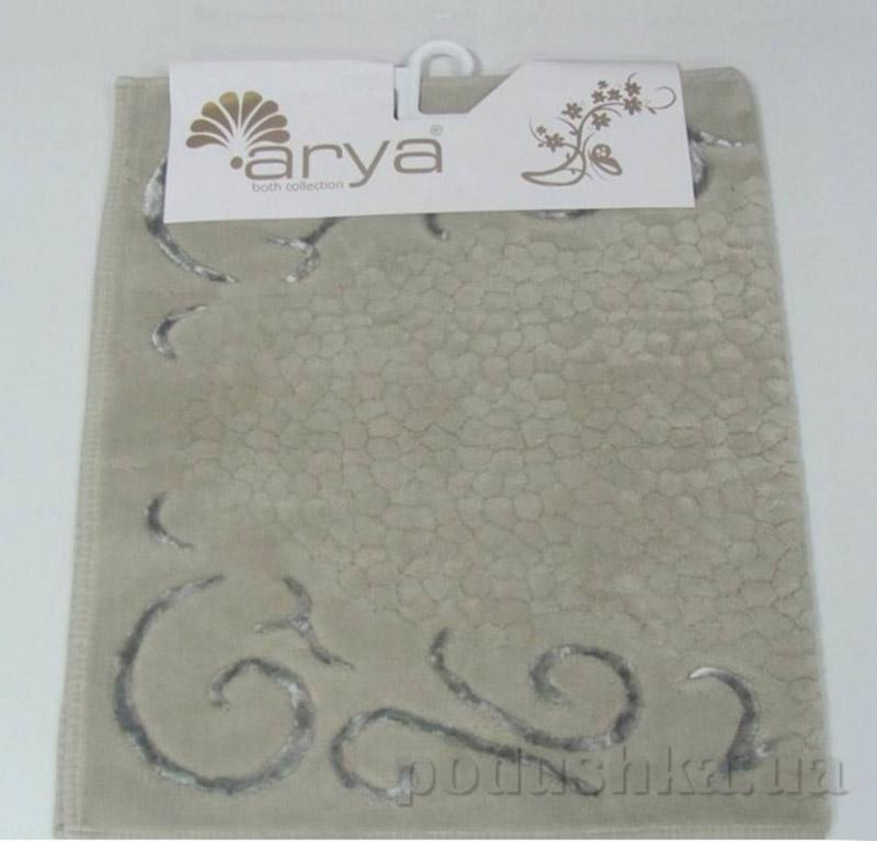 Коврик бежевый для ванной комнаты Beysehir Arya 1380047