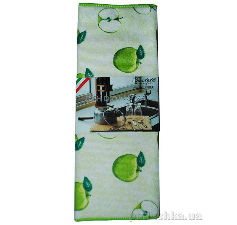 Коврик для сушки посуды Zastelli HY-017 A Зеленые яблоки